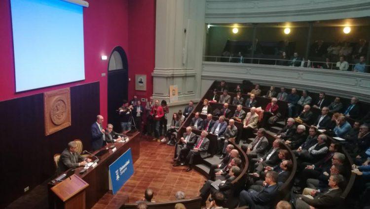 """Javier Lambán: """"El corredor ferroviario debe ser considerado un tema de Estado"""""""