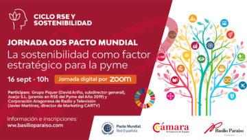 Jornada ODS Pacto Mundial: La sostenibilidad como factor estratégico para la PYME