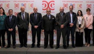 Manuel Teruel, reelegido por unanimidad presidente del Consejo Aragonés de Cámaras