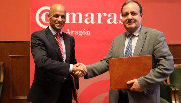 Cámaras Aragón y MotorLand colaborarán para desarrollar proyectos de I+D+i