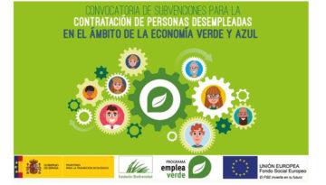 Subvenciones para la contratación – Programa empleaverde