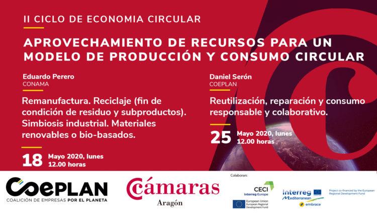 Un nuevo ciclo de las Cámaras y COEPLAN analizará estrategias de economía circular