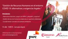Gestión de Recursos Humanos en el entorno Covid-19: alternativas y exigencias legales.